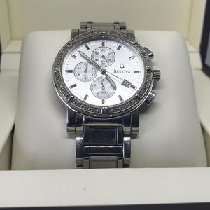 Bulova Diamond Men's Watch